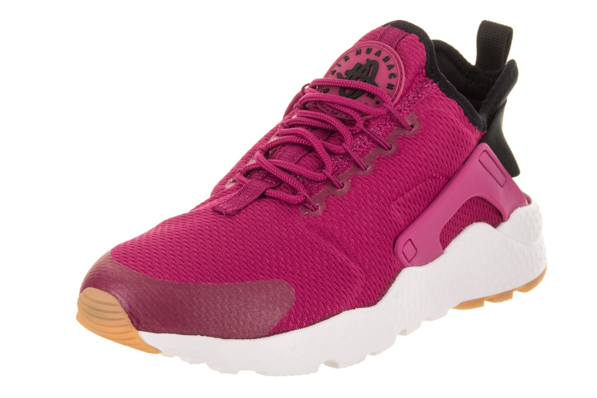 timeless design 3dcd0 f73e2 Galleon - Nike Women s Air Huarache Run Ultra Sport Fuchsia Black Gum  Yellow Running Shoe 9 Women US