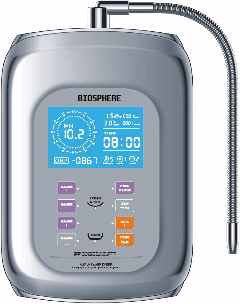 Biosphere – Purificador Ionizador alcalinizzatore D agua – agua ...