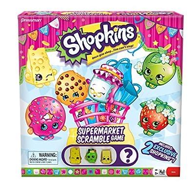 Shopkins Supermarket Scramble Board Game: Toys & Games
