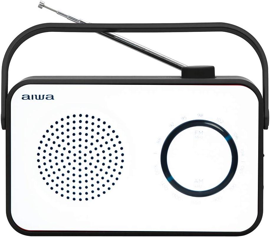 Radio Sobremesa AIWA R-190BW Color Blanco y Negro
