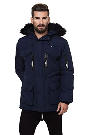 Homme Peak Parka Taille Canadian Xl Marine Atallos qEFzwd
