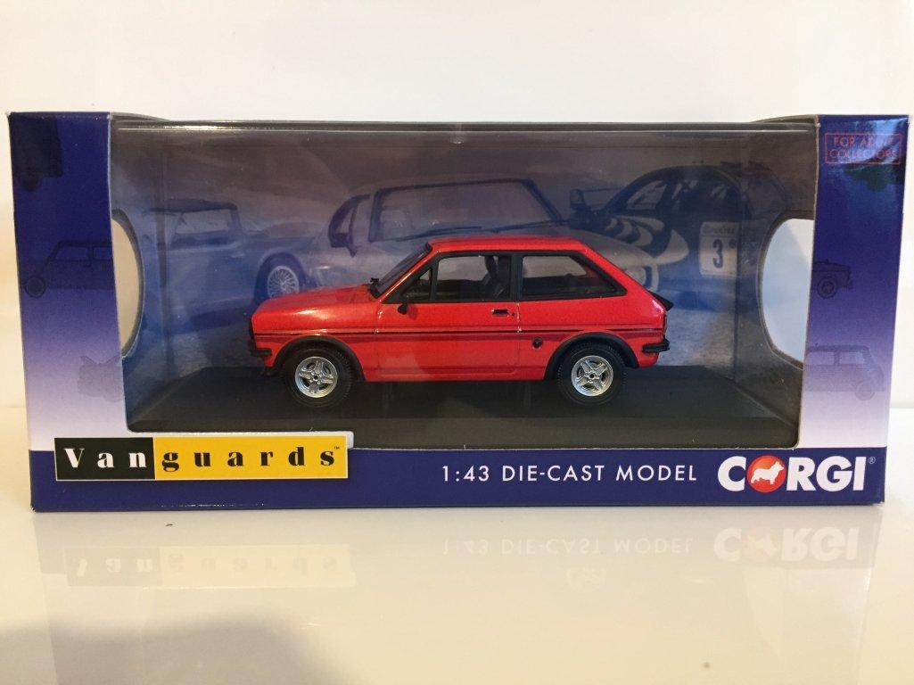 Corgi va12510 - Ford Fiesta Mk1 Supersport Sunburst Red: Amazon.es: Juguetes y juegos