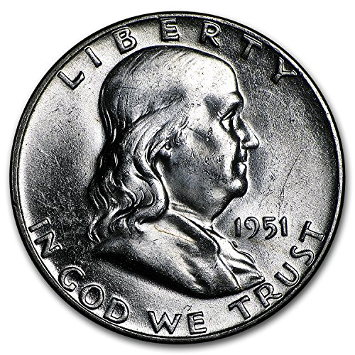 1951 Franklin Half Dollar BU Half Dollar Brilliant Uncirculated ()