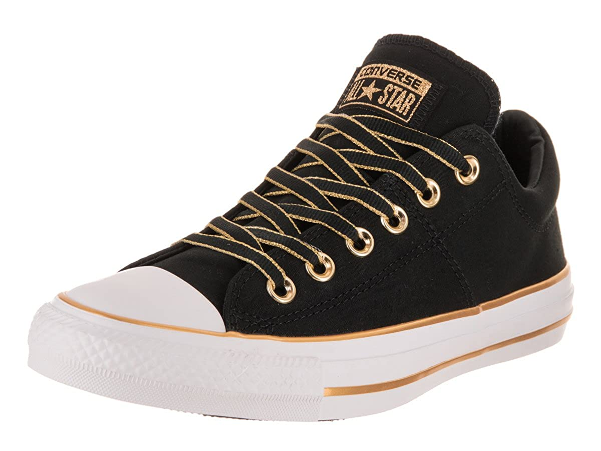 97fd85b5b4fe51 Converse Chuck Taylor All Star Madison Ox Women s Shoes Black Gold 559908f (11  B(M) US)  Amazon.co.uk  Shoes   Bags