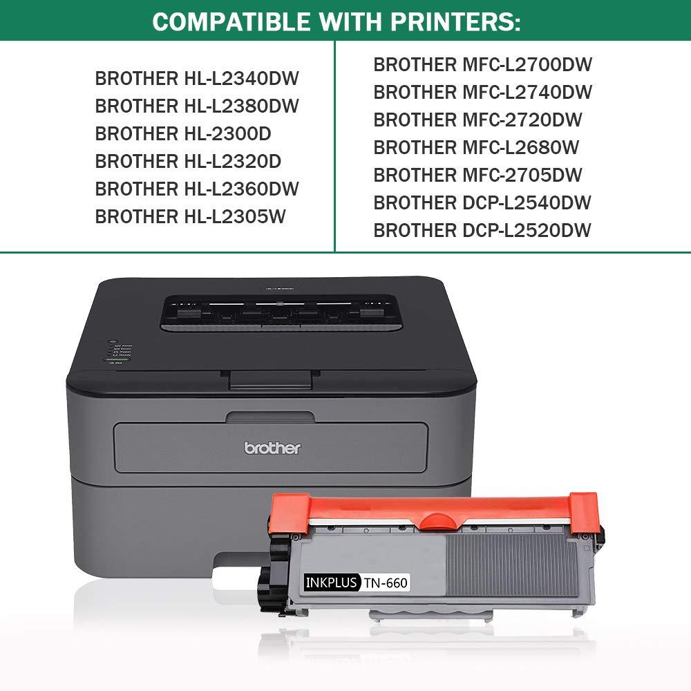 Amazon.com: INKPLUS TN-630 TN-660 - Tóner para impresoras ...
