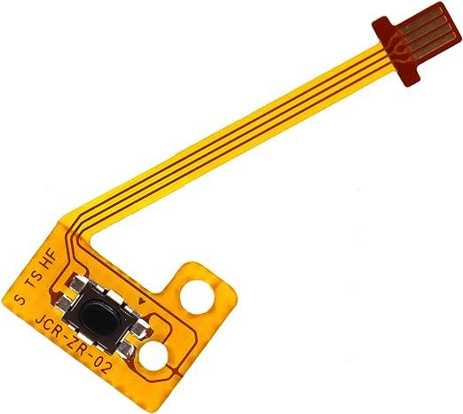 Deal4GO Replacement Part ZR Button Key Ribbon Flex Cable for Nintendo Switch Joy Con Controller