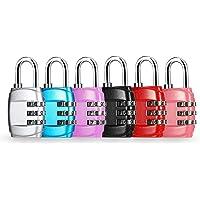 Yumi V 6PCS Candados de Seguridad Candado Seguridad