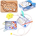 Exquiss 27 pcs Knitting Kits Beginner Knitting Kits Knitting Supplies Weaving