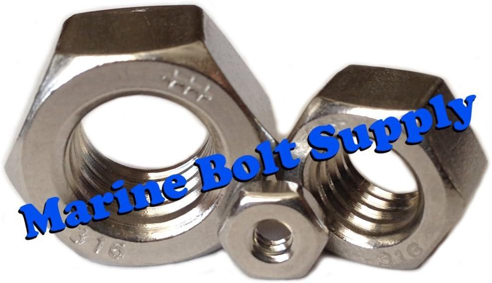 Type 316 Stainless Steel Hex Nut Assortment Kit Marine Bolt Supply 6-118141