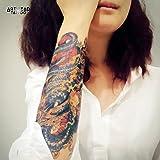 """Tatouage Temporaire ArtWear Tattoo """"Blue Dragon"""""""
