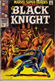 Marvel Super-Heroes #17, Nov. 1968. Black Knight. All-Winners Squad with Golden Age Captain America, Human Torch and Sub-Mariner