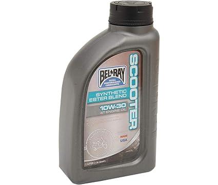 Aceite Ester Blend Synthetic Scooter 4 tiempos 1 litro 10 ...