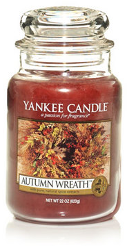 Autumn Wreath™ : Large Jar Candles : Yankee Candle