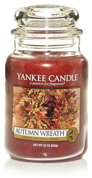 Autumn Wreath™ : Large Jar Candles : Yankee Candle