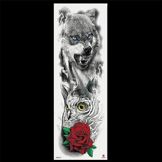 tzxdbh 3 Unids-Original Impermeable Brazo Completo Tatuaje ...