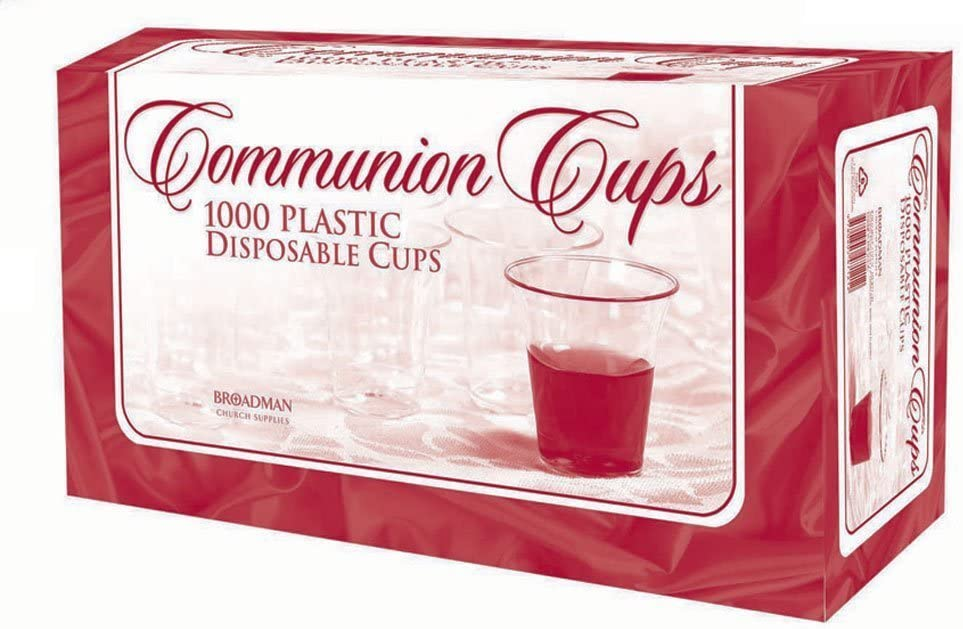 Disposable Communion Cups Box of 1000 NEW