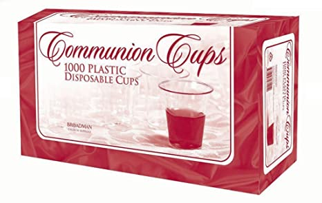 Communion Cups - Box of 1000 - Disposable