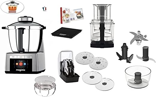 Magimix - Robot de cocina Cook Expert con cocción, multifunción ...