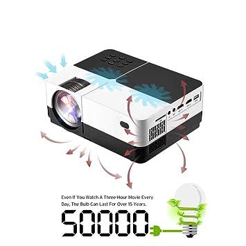 GJZhuan HD LED Projector , Mini Projetor Proyector 800x480, 3200 ...