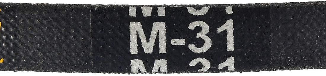 sourcing map M28 Courroie Transmission V Machine Caoutchouc Noir Courroie Remplacement