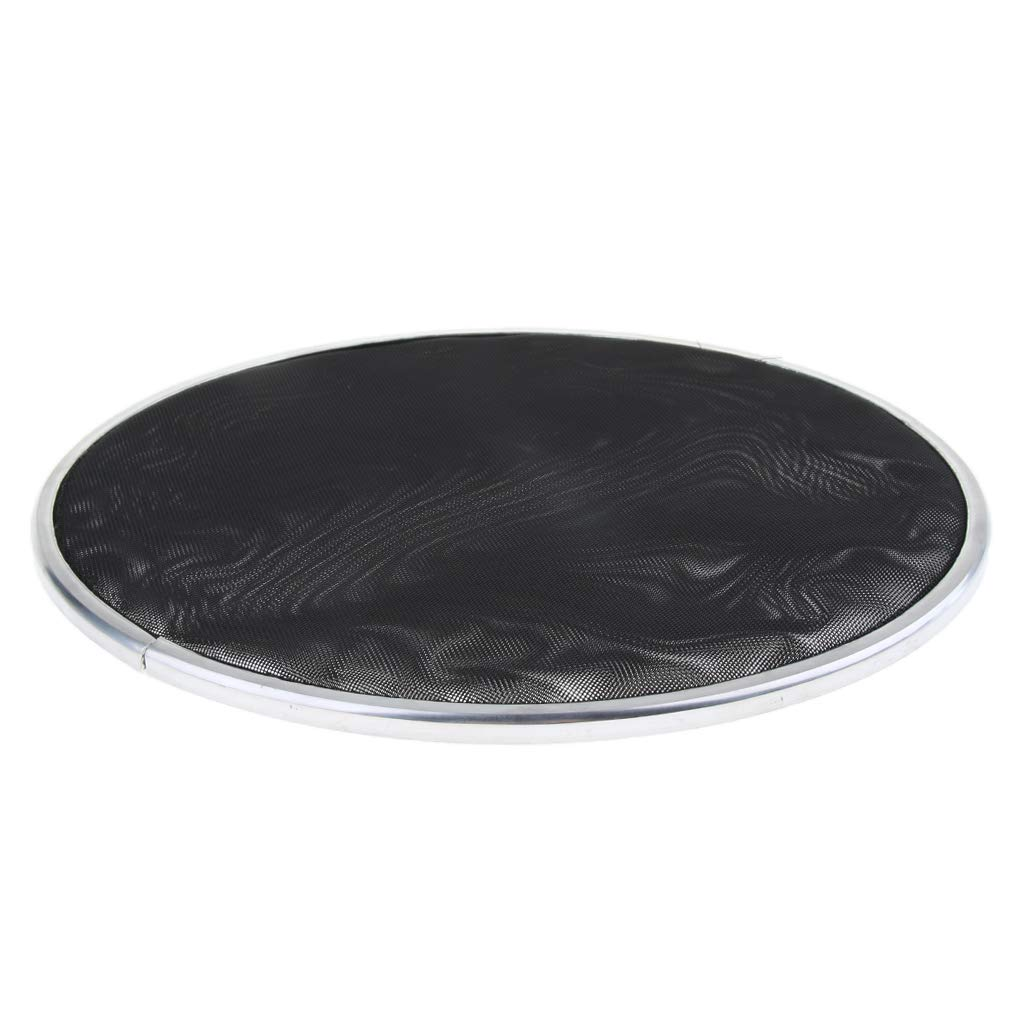 Black 13inch Baosity 2-Ply Mesh Silent Drumhead DRUM HEAD SKIN for Drum Set Replacement