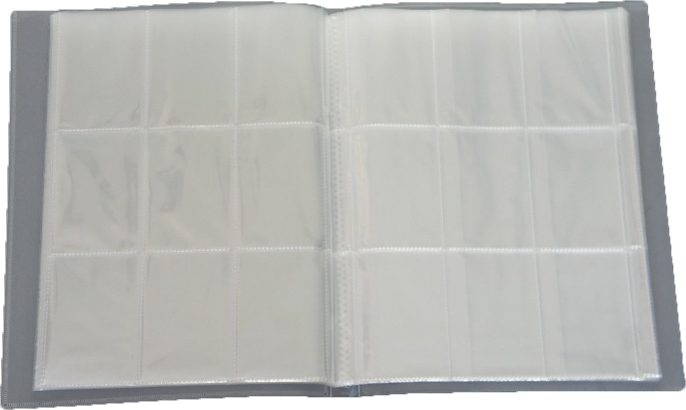 - Ideal f/ür Sammel Bilder//Karten 18 Seiten Farbe Neutral 324 Karten Unbekannt Leere Sammelmappe