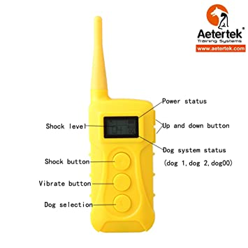 Amazon.com   Aetertek Replacement Parts remote for Waterproof ... 1d31ae4f0b5