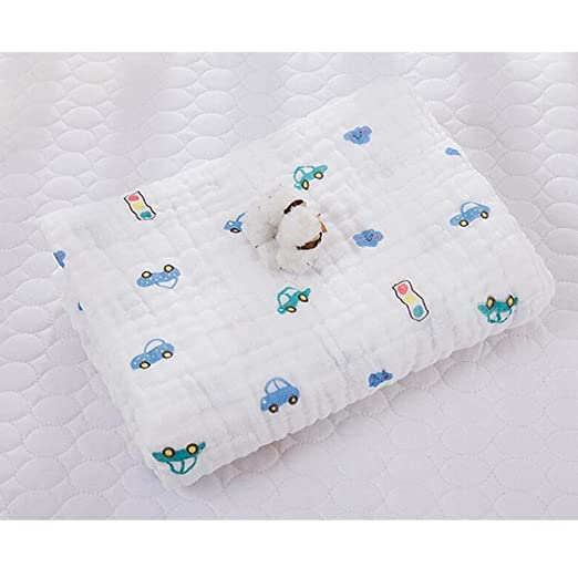 Amazon.com : Cotton Baby Bath Towels for Newborn, Muslin Cloths, Organic Cotton Baby Towel for Baby Skin, Soft Strong Absorption, Good Air Permeability : ...