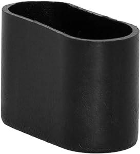 "Flyshop 8Pcs Oval Chair Leg Caps PP Hard Plastic Chair Leg Floor Protectors Furniture Table Covers 5/8"" X 1-11/32"" (16 x 34mm)"