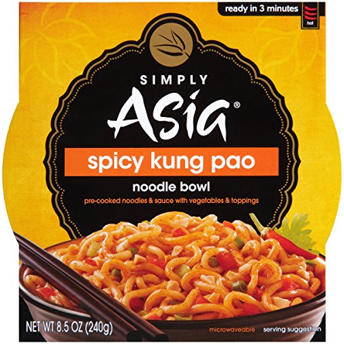 Simply Asia Spicy Kung Pao Noodle Bowl, 8.5 oz