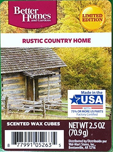 - Better Homes and Gardens Scented Wax Cubes - Rustic Country Home