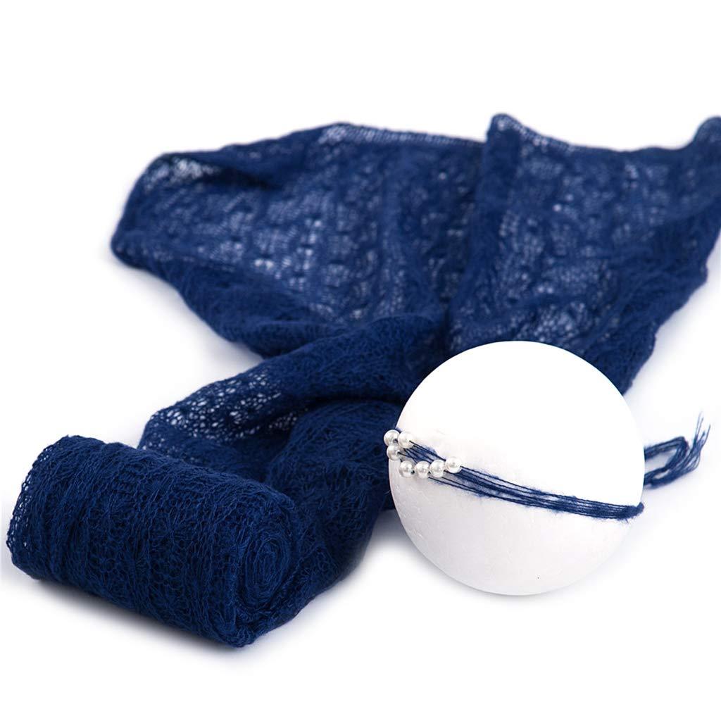 BASSK 2 Pcs//Set B/éb/é Photographie Props Couverture Wraps Stretch Tricot Wrap Photo Nouveau-N/é en Tissu Accessoires Coiffe