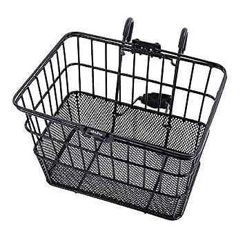 Ohuhu® Rust-Prueba Rápida Frente Lanzamiento del Manillar de la Bicicleta Lift Off Basket