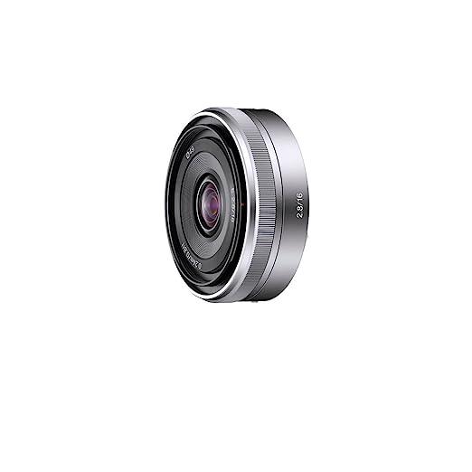 16 opinioni per Sony SEL16F28 Obiettivo Grandangolare con focale fissa E 16 mm F2.8, Argento