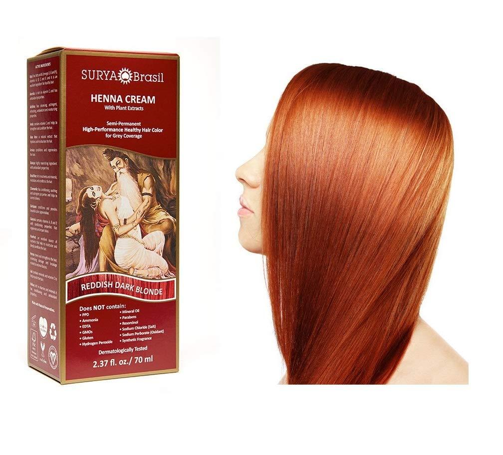 Surya Henna Brasil Cream Reddish Dark Blonde - 2.31 fl oz by Surya