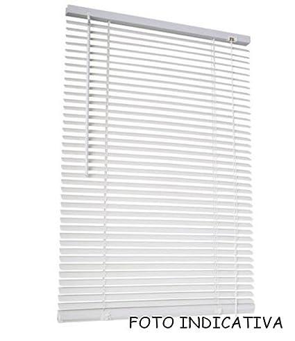 Bianco, 60 x 160 cm F6 Vetrineinrete/® Tende veneziane in PVC Veneziana Finestra Tenda Marrone Bianco Beige Chiaro o Scuro Effetto Legno Varie Misure