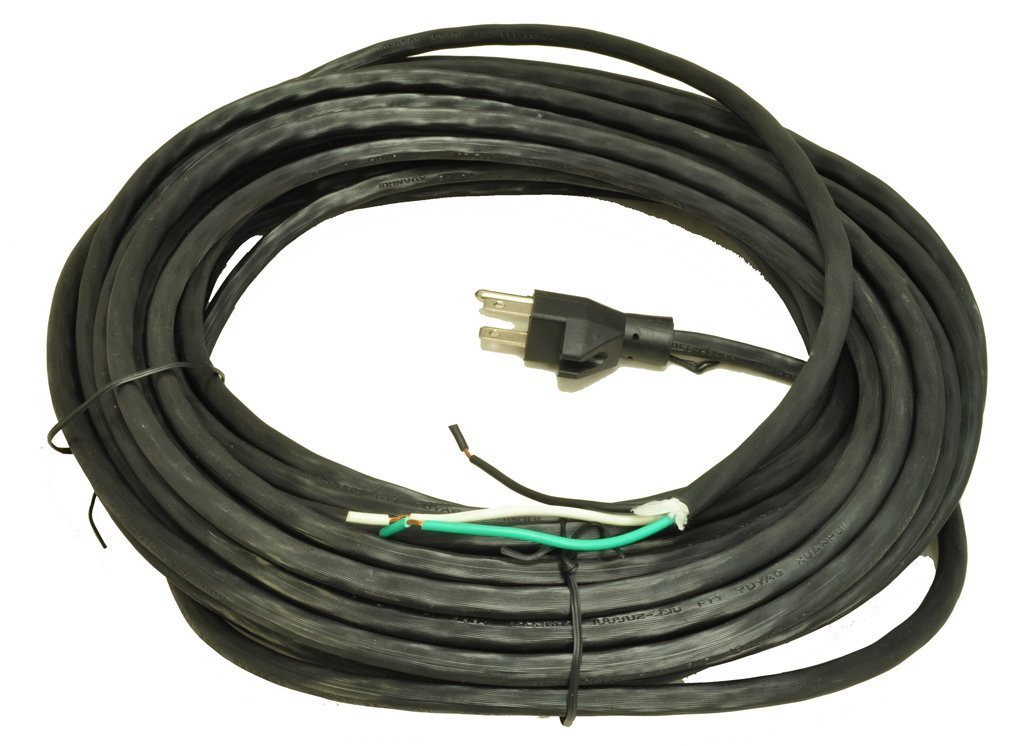 50 Foot 18/3Replacement Vacuum Cleaner Cord- Black Color