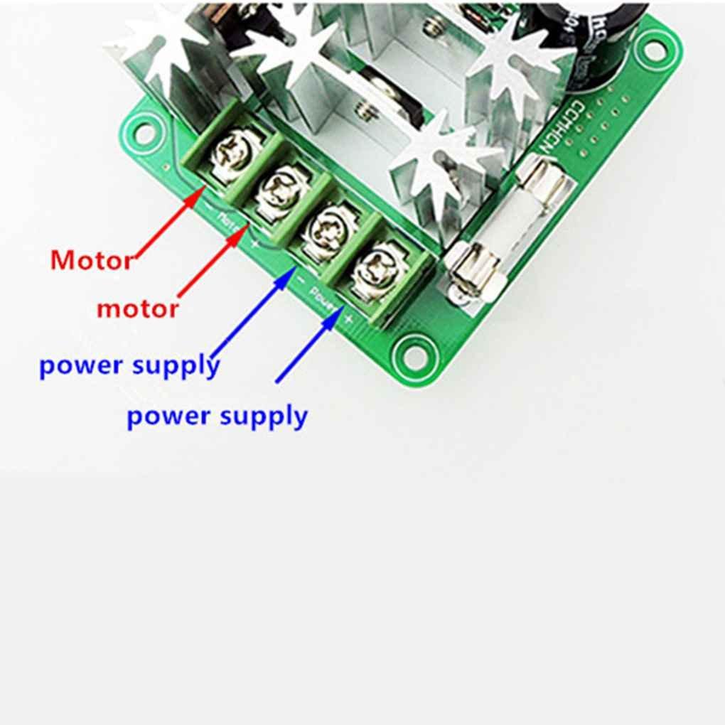 Uzinb PWM 6V 12V 36V 60V 90V 15A CCMHCN Pulso Interruptor regulador del Circuito de Velocidad del Motor de Control de Velocidad Regulador PLC Ancho