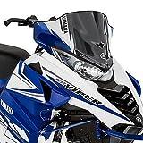 Yamaha SR Viper Snowmobile Low Sport Windshield OEM BLUE 9.5''