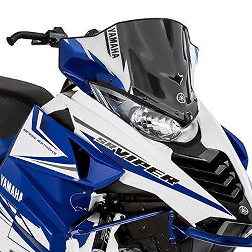 Yamaha Snowmobile Windshield - Yamaha SR Viper Snowmobile Low Sport Windshield OEM BLUE 9.5