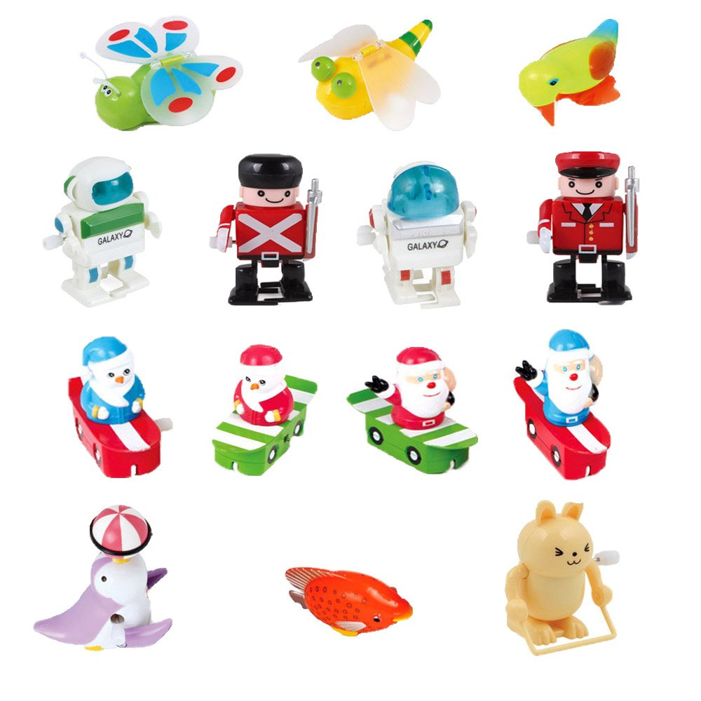 Ymiss 14pcs Wind Up Assorted Toys for Kids Gift and Adults Played in Office Table by Ymiss (Image #4)