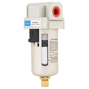 soarup Compresor De Aire Filtro Regulador de presión del agua humedad, 1 pcs AF3000 –