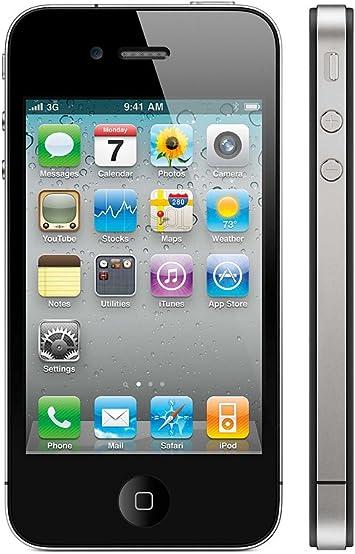APPLE A1387 iPhone 4s Smartphone (8,9 cm (3,5 Pulgadas), 960 x 640 Pixeles, 8 Mpx, 16 GB, iOS), Color Negro: Amazon.es: Electrónica