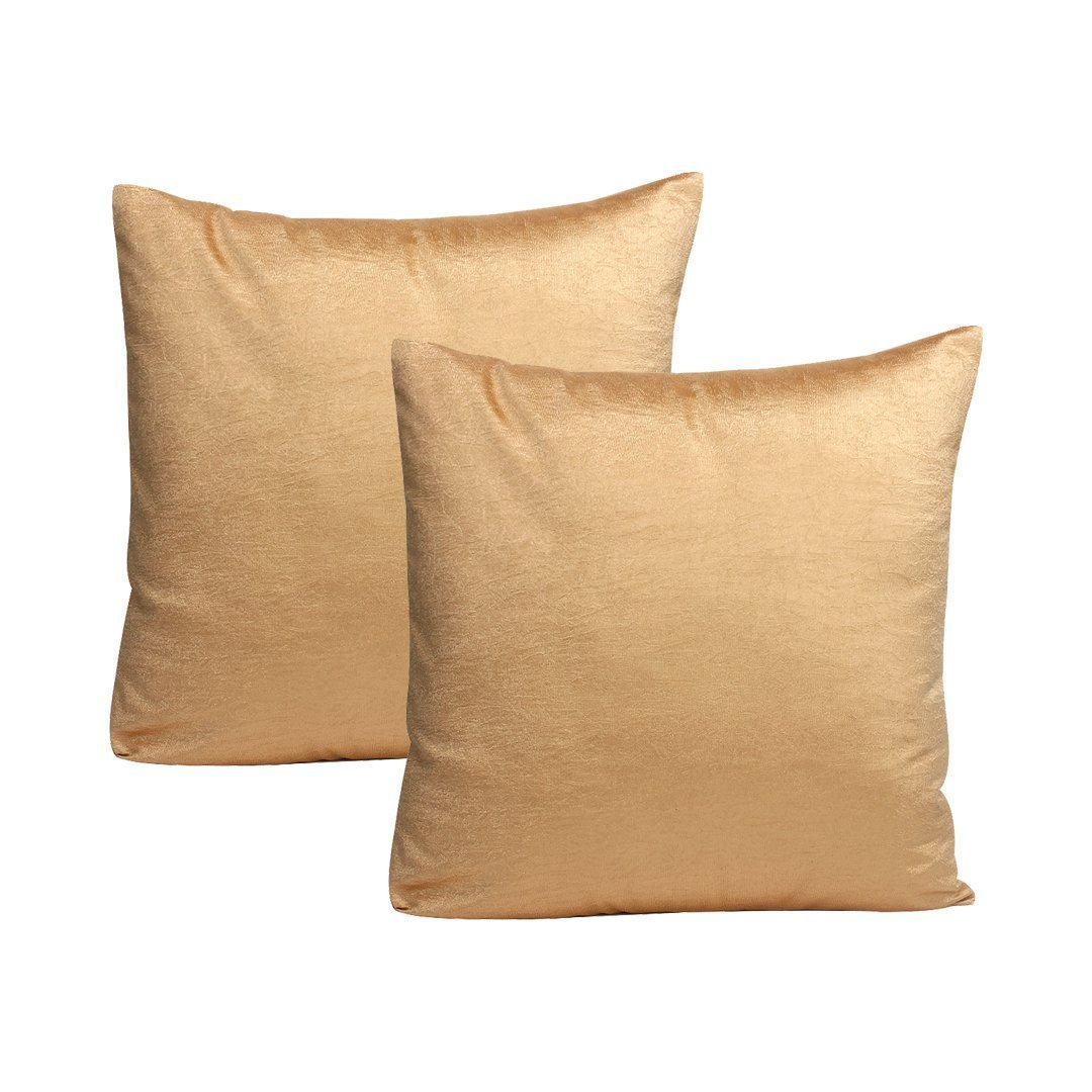 最安値挑戦! ビスコーススロー枕カバー(セットof 2 ) 22x22 18x18 inch グリーン inch|ゴールド MPN ) Teal Viscose 22 B075ZQQW2P 18x18 inch|ゴールド ゴールド 18x18 inch, メガネのミルック:4f5006cd --- arianechie.dominiotemporario.com