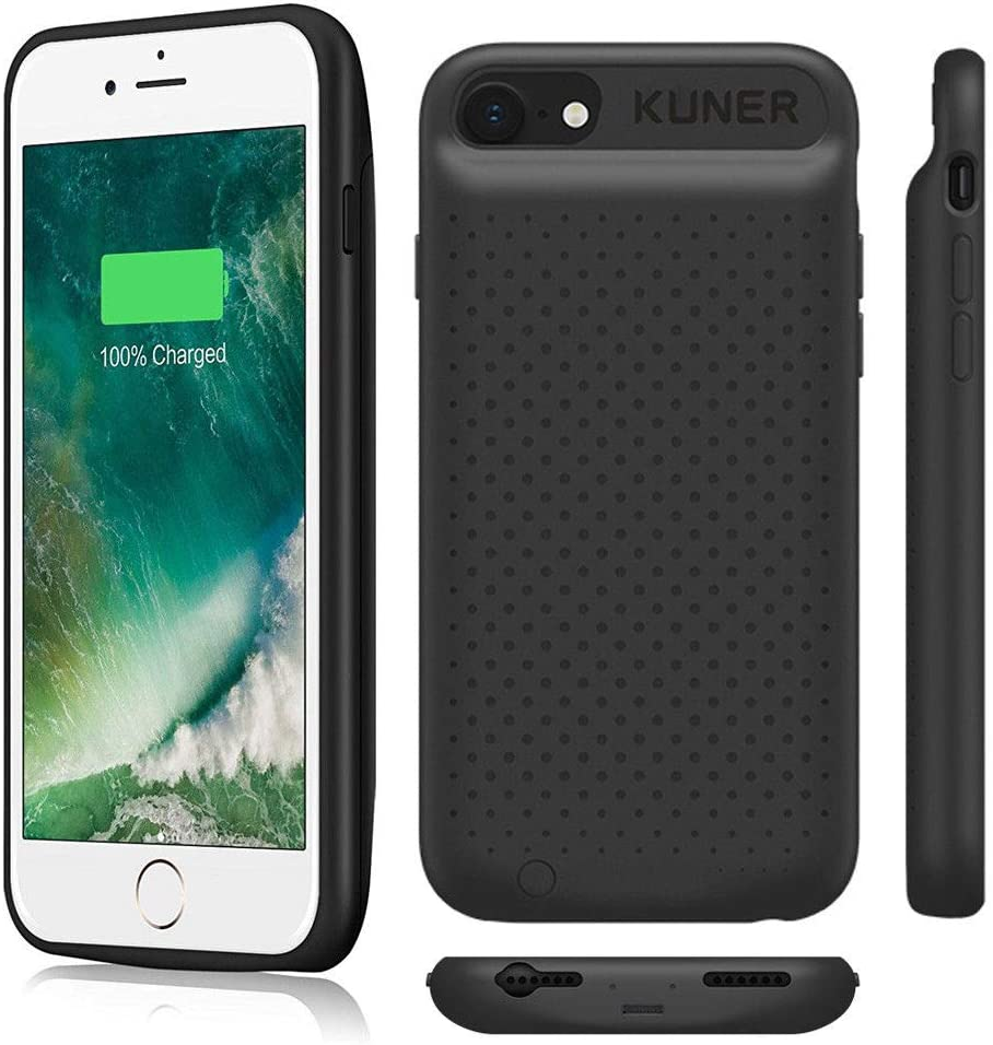 iPhone 6SPlus 7Plus 8Plus 2400mAh External Power Bank Cover Portable Charger Protective Thin Charging Case Back Pack for iPhone 6 6S Plus 5.5inch iPhone 6 Plus Battery Case