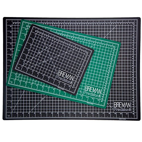 "Breman Precision 12""x18"""" Cutting Mat This Self Healing Mat is The Perfect Cutting Mat Board for All Arts & Crafts Including Quilting, Scrapbooking, Sewing, Workshop Use, and School Projects"