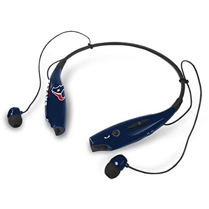 deb5ffeb Mizco NFL Texans Bt Neckband Earphones Mic Blk, Headphones - Amazon ...