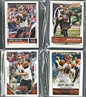 2014 2015, 2016 & 2017 Panini Score Football Cincinnati Bengals 4 Team Set Lot Gift Bag Pack 58 Cards W/Rookies