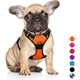 BARKBAY No Pull Dog Harness Large Step in Reflective Dog Harness with Front Clip and Easy Control Handle for Walking Training