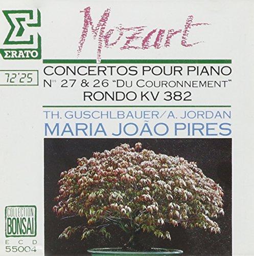Price comparison product image Mozart:Piano Con. 26 KV 537, No. 27 KV 585, and Rondo KV 382